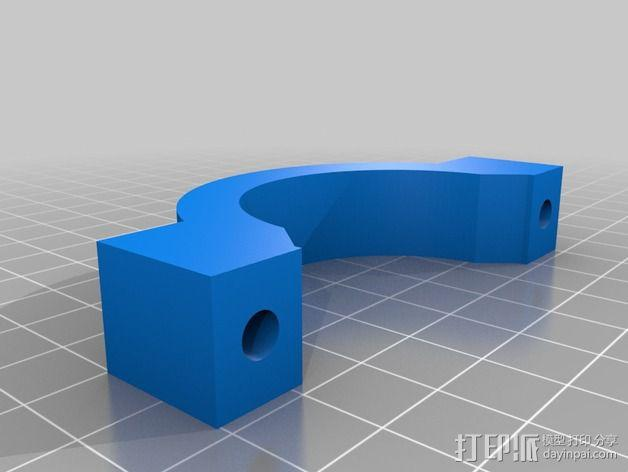 Shapeoko 2电动工具架 3D模型  图8