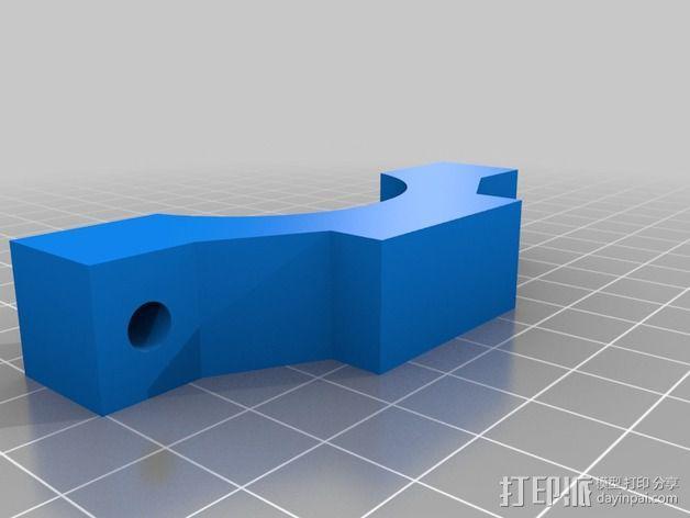 Shapeoko 2电动工具架 3D模型  图11