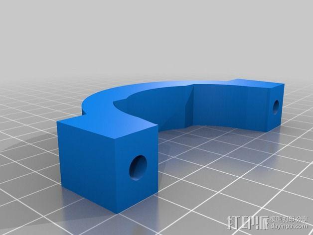 Shapeoko 2电动工具架 3D模型  图10
