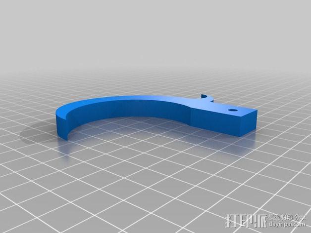野营 帐篷 挂钩 3D模型  图4
