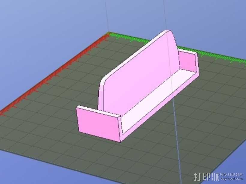 打磨块 3D模型  图1