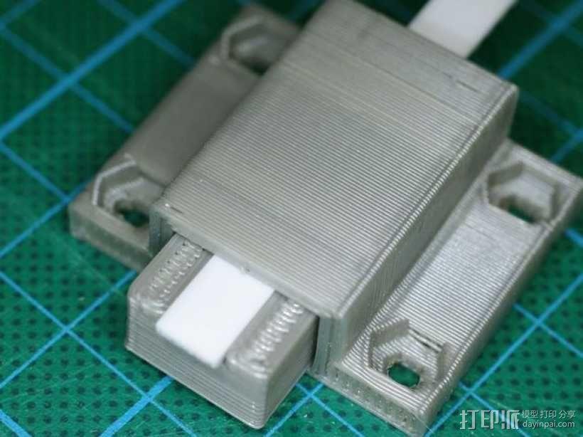 Y轴皮带护圈 3D模型  图6