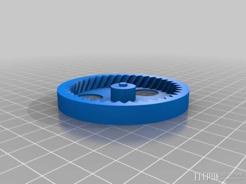 行星齿轮组 3D模型  图5