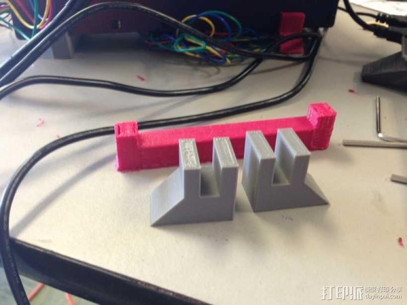 Printrbot Simple 3D打印机底座 3D模型  图1