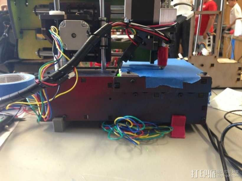 Printrbot Simple 3D打印机底座 3D模型  图2