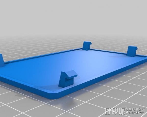 Beaglebone电路板外壳 3D模型  图4