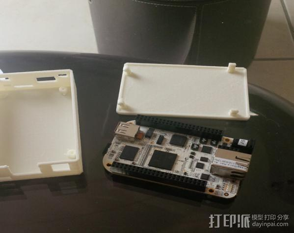 Beaglebone电路板外壳 3D模型  图2
