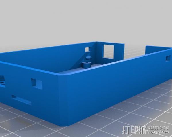 Beaglebone电路板外壳 3D模型  图5