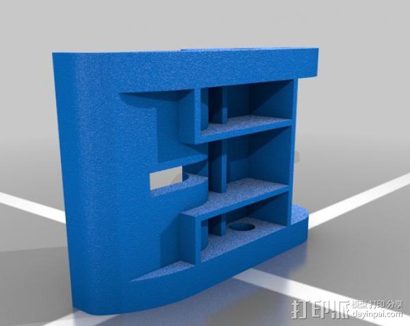 渔具盒把手 3D模型  图2