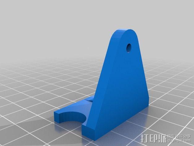 定制化老虎钳架 3D模型  图2