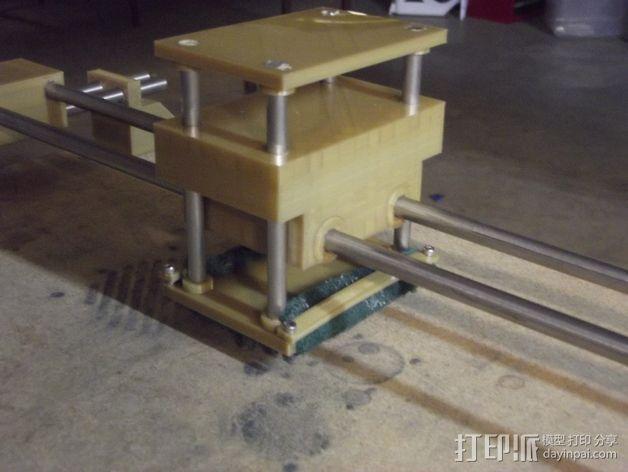线性砂光机 3D模型  图2