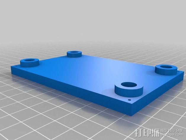 线性砂光机 3D模型  图12