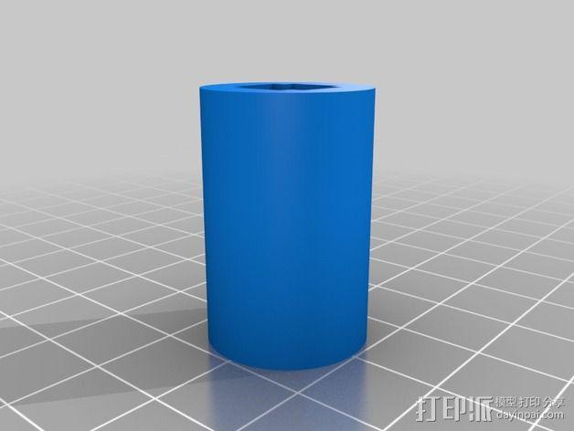 线性砂光机 3D模型  图13