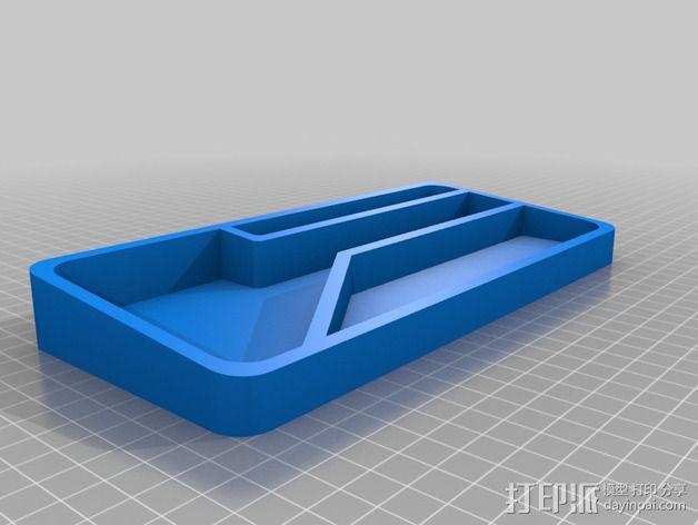 打磨机工具架 3D模型  图2