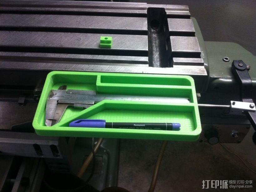 打磨机工具架 3D模型  图1