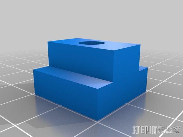 打磨机工具架 3D模型  图5