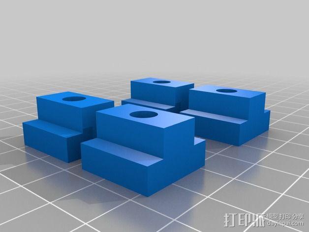 打磨机工具架 3D模型  图4
