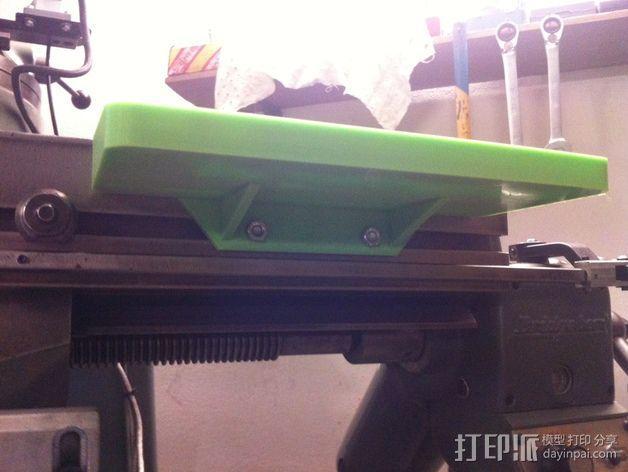 打磨机工具架 3D模型  图6