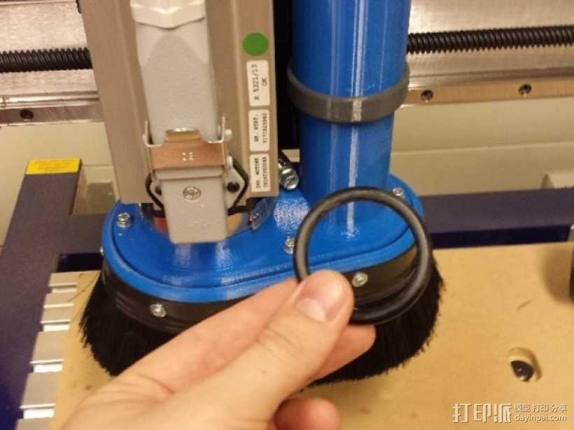 Shopbot CNC设备吸尘器 3D模型  图4