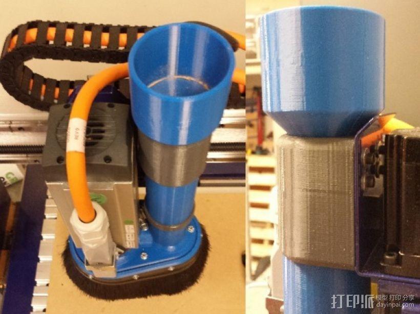 Shopbot CNC设备吸尘器 3D模型  图5