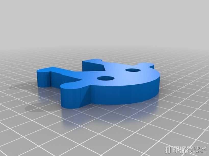 迷你扳手 3D模型  图4