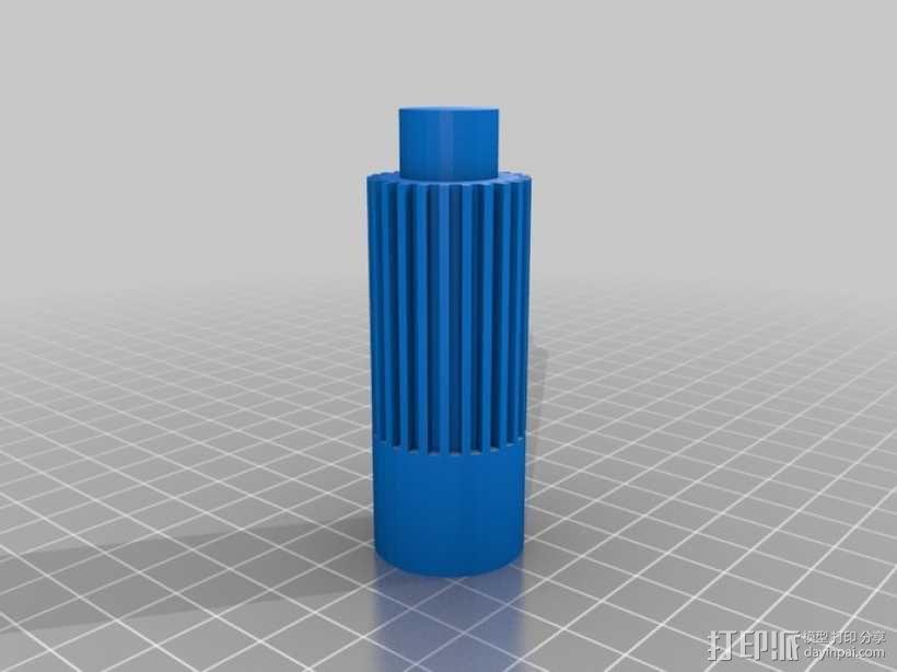 参数化离合器调整工具 3D模型  图1