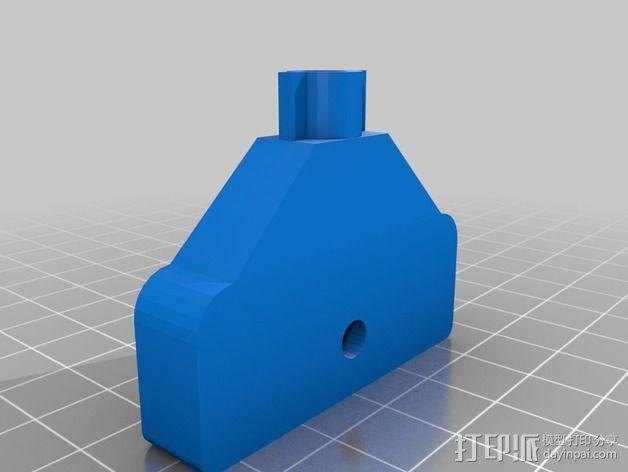橱柜门把手 3D模型  图1