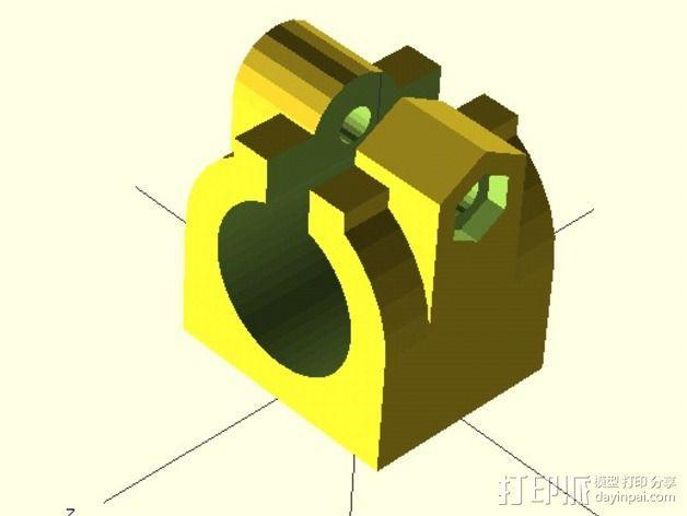 改良版夹持器 3D模型  图1