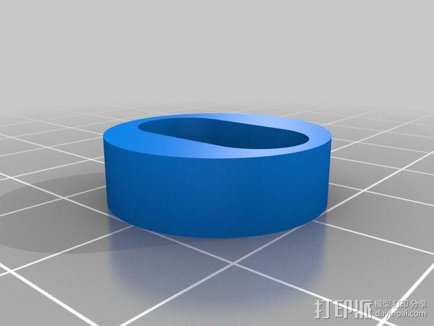 相框挂钩 3D模型  图2
