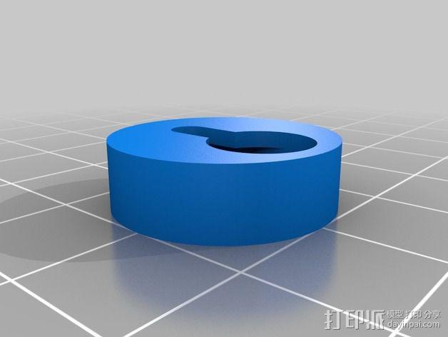 相框挂钩 3D模型  图3