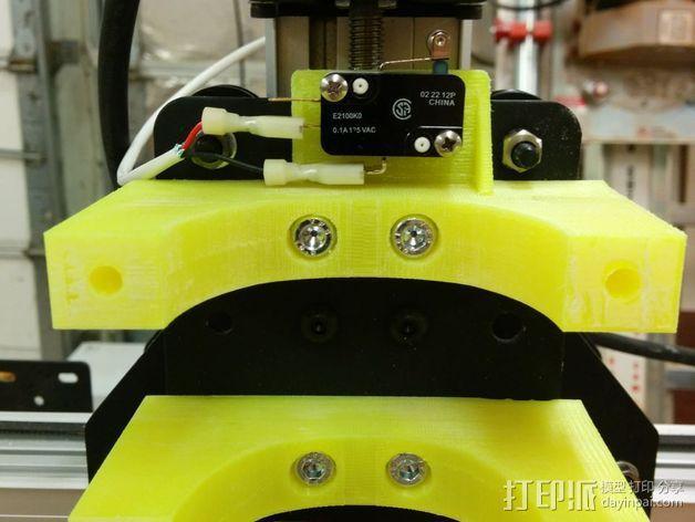 ShapeOko 2 CNC设备支架 3D模型  图3