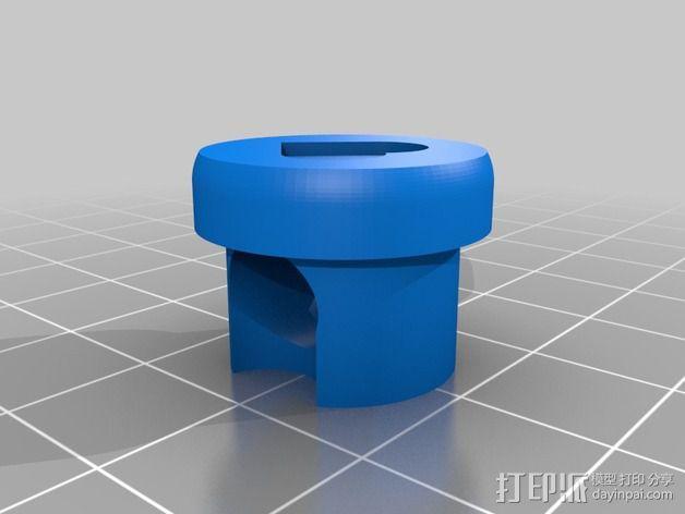 参数化管盖 3D模型  图2