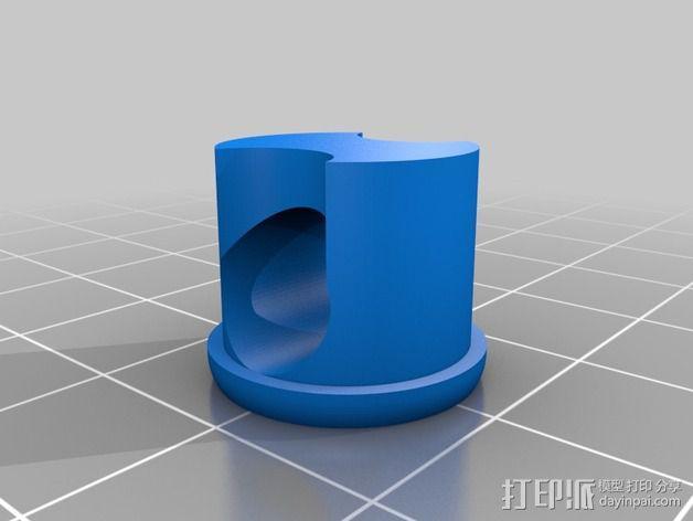 参数化管盖 3D模型  图5