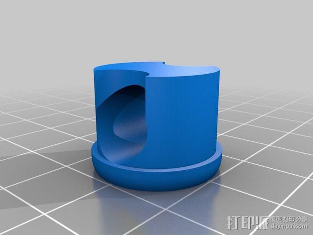 参数化管盖 3D模型  图6