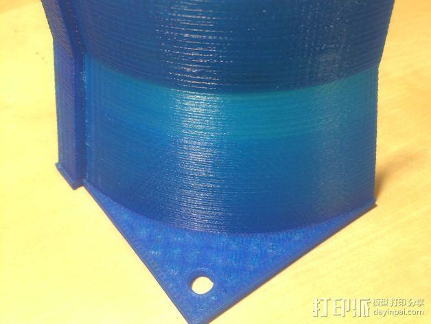 风扇管道配适器 3D模型  图4