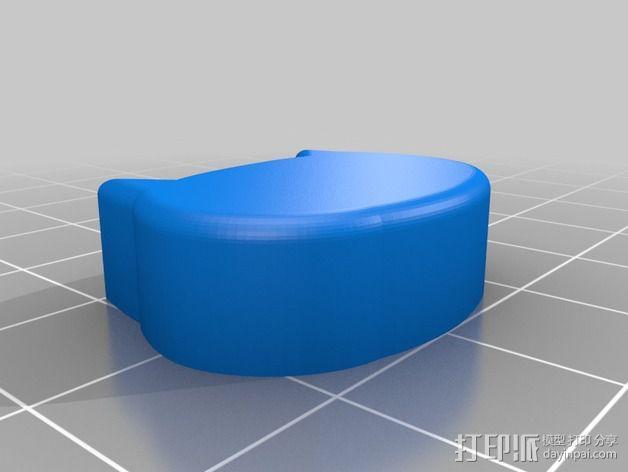 机械键盘 按键  3D模型  图2