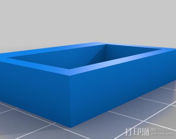 参数化工具架 3D模型  图2