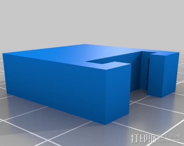 参数化工具架 3D模型  图3