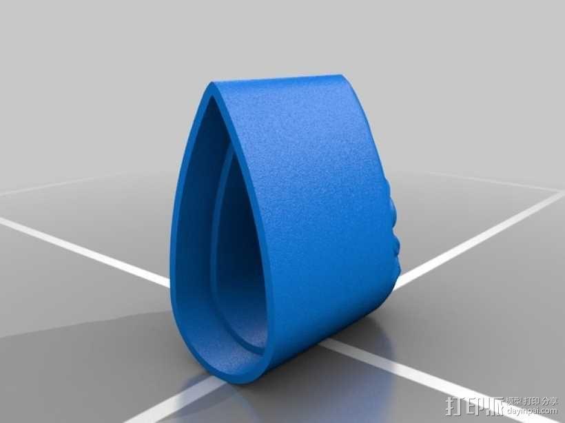 侏儒 笔帽 笔盒 3D模型  图7