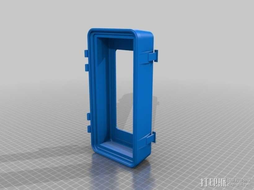 电子器件收纳箱 3D模型  图6