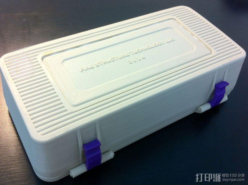电子器件收纳箱 3D模型  图4