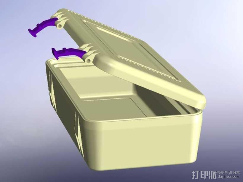 电子器件收纳箱 3D模型  图5