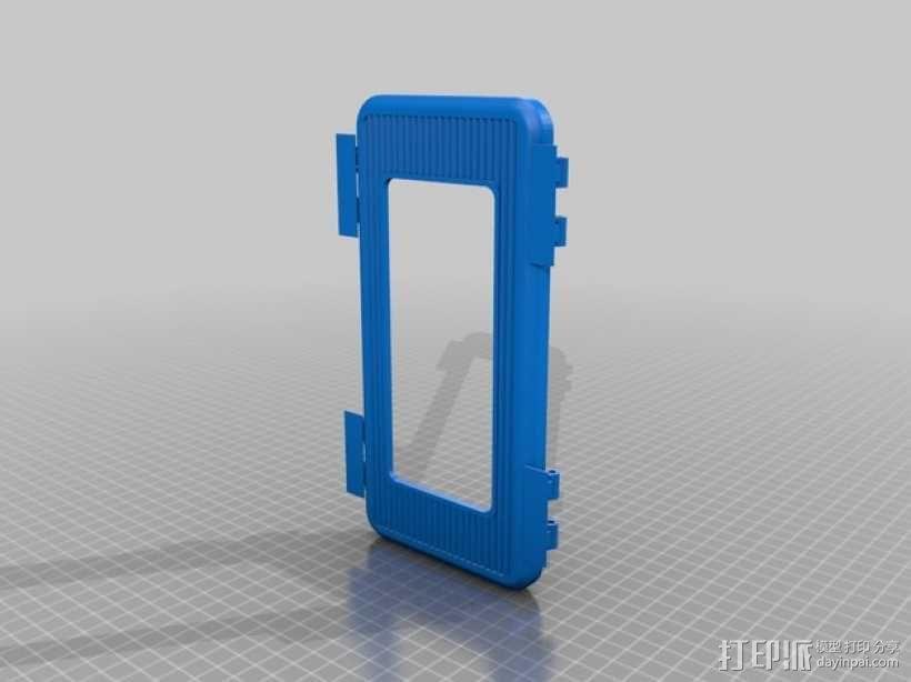 电子器件收纳箱 3D模型  图7