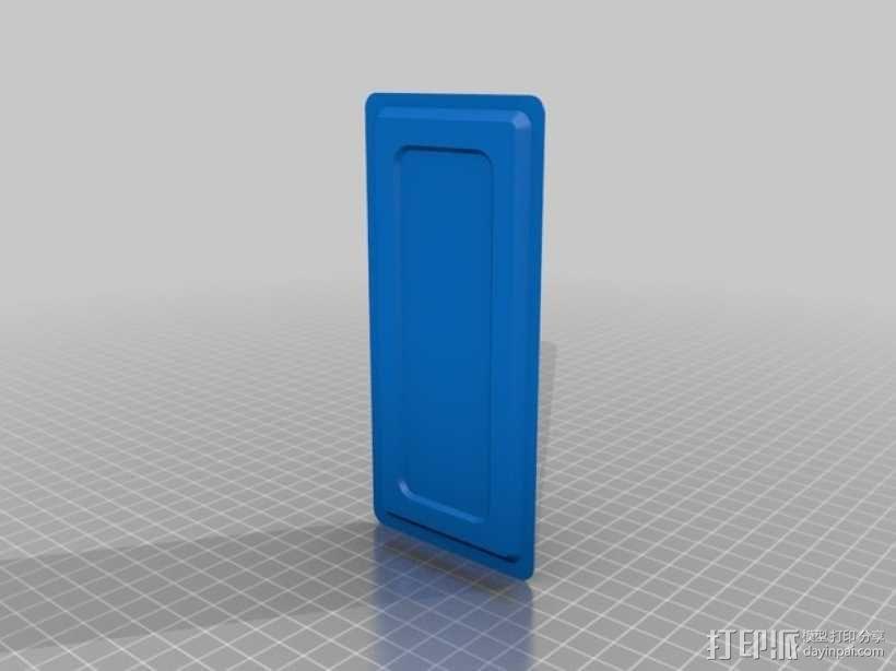 电子器件收纳箱 3D模型  图8