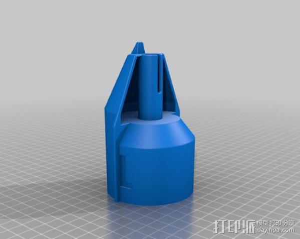 Craftsman电动设备 粉末涂层装置 3D模型  图12