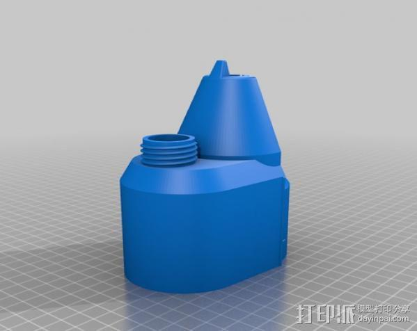 Craftsman电动设备 粉末涂层装置 3D模型  图16