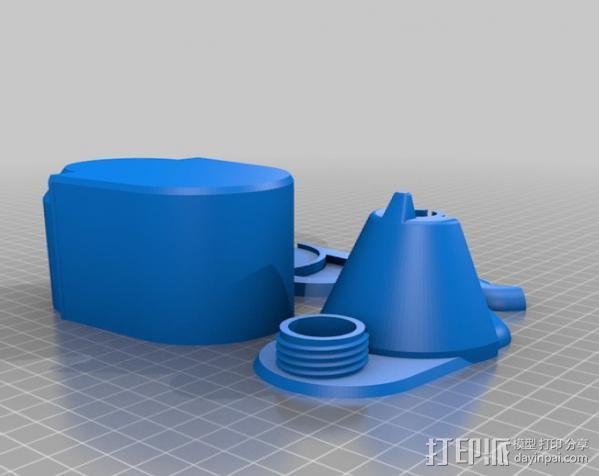Craftsman电动设备 粉末涂层装置 3D模型  图18