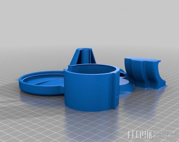 Craftsman电动设备 粉末涂层装置 3D模型  图19