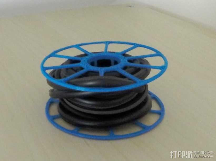 电缆卷绕器 3D模型  图1