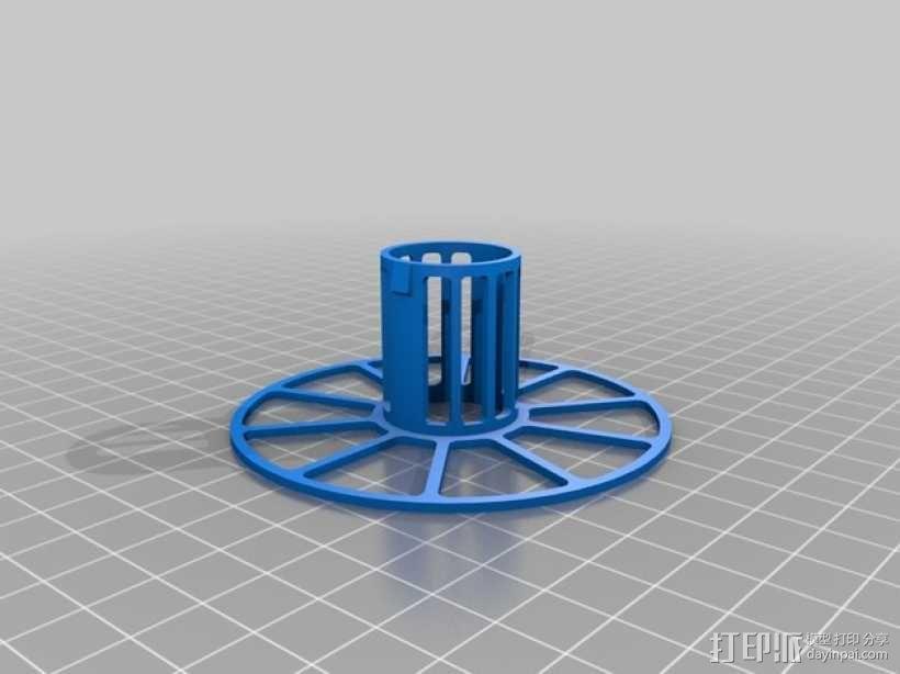 电缆卷绕器 3D模型  图2